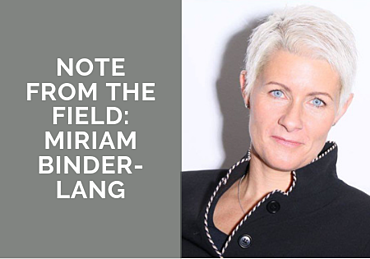 Note from the Field: Miriam